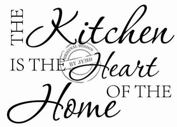 Keukensticker The Kitchen ( keuken )