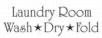 Laundry room wash-dry-fold