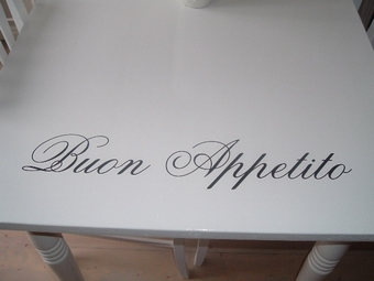 Keukensticker Buon Appetito