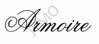 Decoratiesticker Armoire
