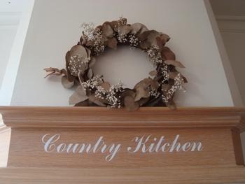 Keukensticker Country kitchen