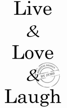 Interieursticker Live love Laugh