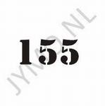 Huisnummer3 cijfers en evt. letter