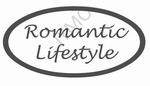 Decoratiesticker Romantic ovaal