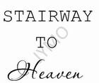 Traptekst Heaven